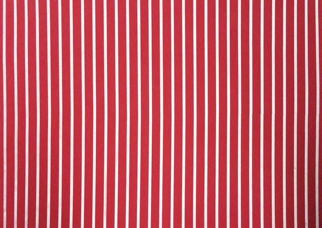 Placa Listrada Branca Fundo Vermelho 40x60cm  - Brindes Visão loja
