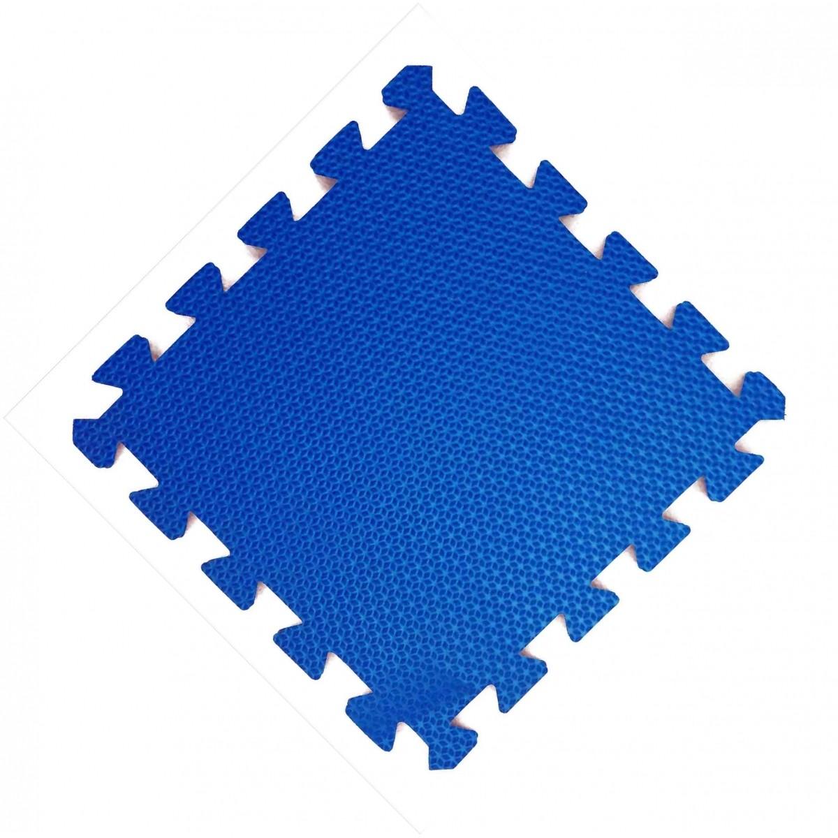 Tatame 30x30cm Com 10mm de Espessura   Azul Royal  -