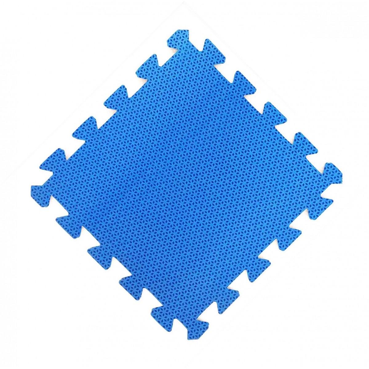 Tatames 30x30cm Com 10mm de Espessura   Azul  -