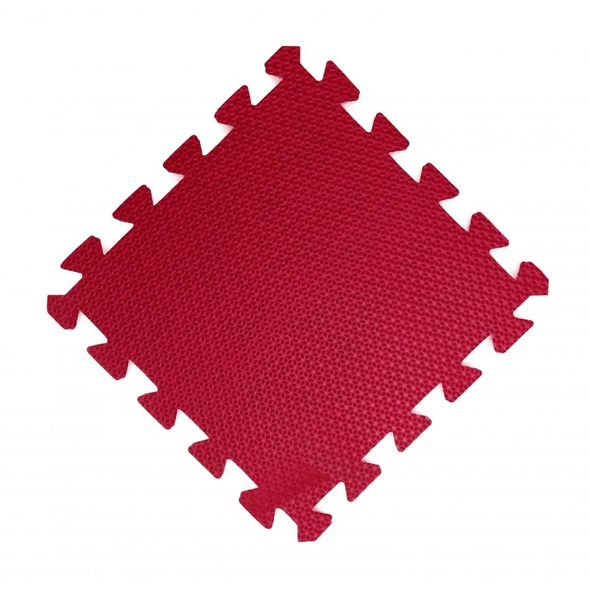 Tatames 30x30cm Com 10mm de Espessura    Vermelho  -