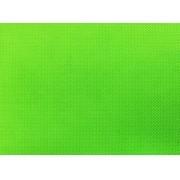 Placa de Bolinhas Pequena de 1mm Branca Fundo Verde Cítrico 40x60cm