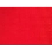 Placa de Bolinhas Pequena de 1mm Amarela Fundo Vermelho 40x60cm