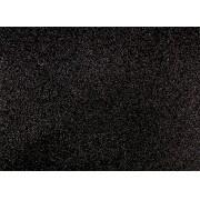 Placa Glitter Preta em E.V.A  40X60cm