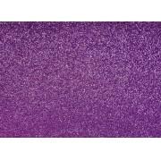 Placa Glitter Lilás em E.V.A 40x60cm