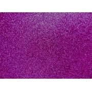 Placa Glitter Violeta em E.V.A 40x60cm
