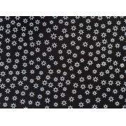 Placa Estrela Vazada Branca Fundo Preto 40x60cm