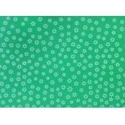 Placa Estrela Vazada Branca Fundo Verde Limão 40x60cm