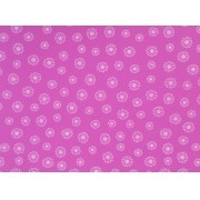 Placa Flor(3) Branca Fundo Rosa 40X60cm