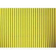 Placa Listrada Verde Fundo Amarelo 40x60cm