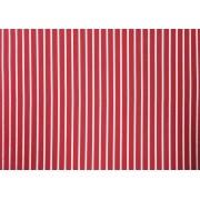 Placa Listrada Branca Fundo Vermelho 40x60cm