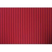 Placa Listrada Azul Fundo Vermelho 40x60cm