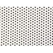Placa Ratinho Preto Fundo Branco 40x60cm