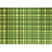 Placa Xadrez Verde Fundo Amarelo 40x60cm