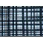 Placa Xadrez Preto Fundo Azul  40x60cm