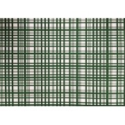 Placa Xadrez Verde Fundo Branco 40x60cm