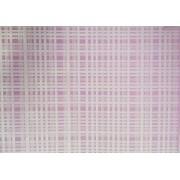 Placa Xadrez Branco Fundo Rosa 40x60cm