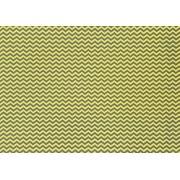 Placa Chevron Amarelo e Cinza 40x60cm
