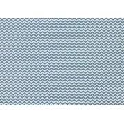 Placa Zigue-Zague Azul e Cinza 40x60cm