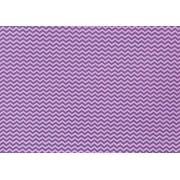 Placa Chevron Rosa e Lilás 40x60cm