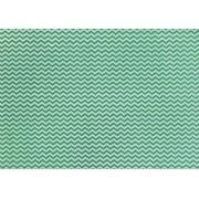Placa Chevron Verde Escuro e Verde Claro 40x60cm