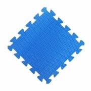 Tatames 30x30cm Com 10mm de Espessura   Azul