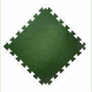 Tatame  100x100cm Com 10mm de Espessura  Verde Escuro