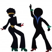 SILHUETA GRANDE DANCE I COM 2 UNIDADES  63,5x102CM