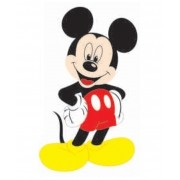 MICKEY MINI PERSONAGEM COM 6 UNIDADES  13X6CM