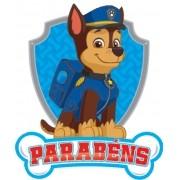 PATRULHA CANINA - PARABÉNS   63,5x53cm