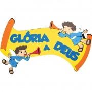 FAIXA GLORIA A DEUS   65,0x44,0CM