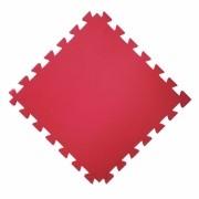 Tatame  100x100cm Com 10mm de Espessura  Vermelho