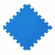 Tatame  100x100cm Com 10mm de Espessura  Azul Royal