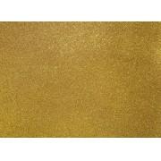 Placa Glitter Dourada em E.V.A  40x60cm