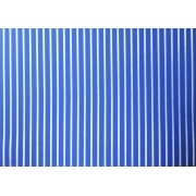 Placa Listrada Branca Fundo Azul 40x60cm