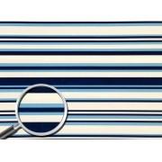 Placa Listrada(2) Tons de Azul 40x60cm