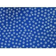 Placa Estrela Vazada Branca Fundo Azul  40x60cm