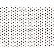 Placa Ratinha Preta com Fundo Branco 40x60cm
