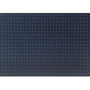 Placa Bolinha Media de 4mm Branca Fundo Azul Marinho 40x60cm