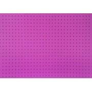 Placa Bolinha Media de 4mm Marrom e Fundo Rosa 40x60cm