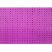 Placa Bolinha Media de 4mm Preta e Fundo Rosa 40x60cm