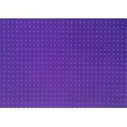 Placa Bolinha Media de 4mm Rosa e Fundo Lilás 40x60cm