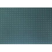 Placa Bolinha Media de 4mm Branca e Fundo Verde 40x60cm
