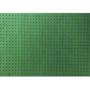Placa Bolinha Media de 4mm Branca em fundo Verde Limão  40x60cm