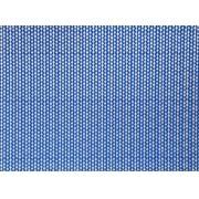 Placa Cordão Branco Fundo Azul Royal 40x60cm