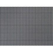Placa Cordão Branco Fundo Preto 40x60cm
