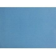 Placa de Bolinhas Pequena de 1mm Preta Fundo Azul 40x60cm