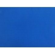 Placa de Bolinhas Pequena de 1mm Marrom Fundo Azul Royal 40x60cm