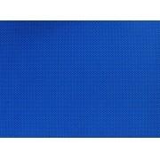 Placa de Bolinhas Pequena de 1mm Preto Fundo Azul Royal  40x60cm