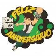 BEN 10 - FEIXA FELIZ ANIVERSARIO 70,0X74,0CM