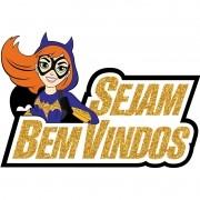 DC SUPER HERO GIRLS - FAIXA SEJA BEM VINDO BATGIRL 50,0X34,0CM